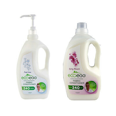Ecoegg Concentrated Fabric Conditioner 240 Washes Hypoallergenic eco friendly