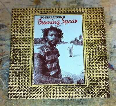 BURNING SPEAR ~ ORIGINAL 1970s VINYL LP ~ REGGAE ~ ROOTS