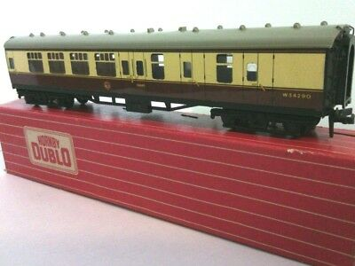 Triang Railway Model 4051 Corridor Coach Hornby Dublo Brake 2nd W R 00 Gauge Box