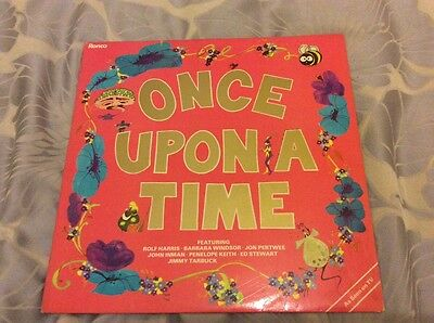 Once Upon A Time Lp (John Pertwee,barbara Windsor) Ronco