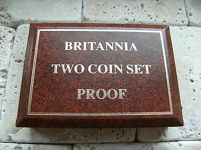 1988 Britiannia Two Proof Coin Set 0115 / 7,500.