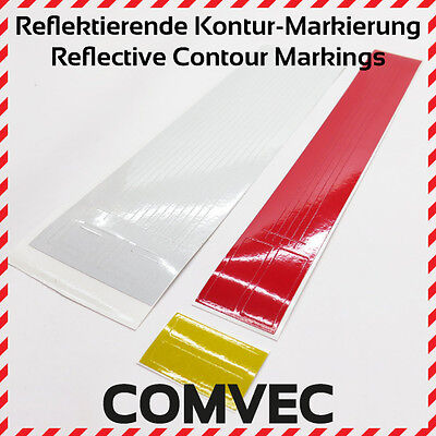 COMVEC Reflective Contour Markings, Label/Sticker, for all trucks in 1/13-1/16
