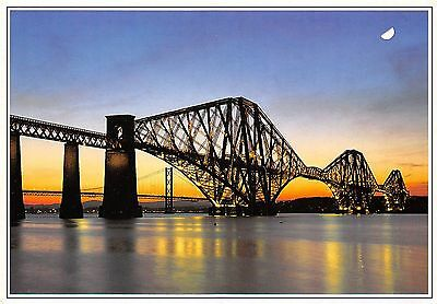 Forth Rail Bridge spans the River Forth between North and South Queensferry