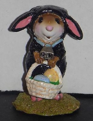 NMIB WEE FOREST FOLK SPRING EASTER MOMMY'S LITTLE BLACK SHEEP M-433a