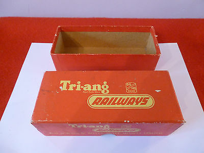'oo' Gauge Tri Ang Empty Box For 0-6-0 Saddle Tank Loco (Electric) R153