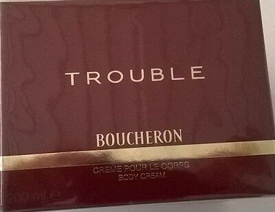 Trouble Boucheron for women CRÈME  POUR LE CORPS 200ml. BODY CREAM