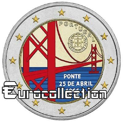2 euro Portugal  2016 Pont du 25 avril couleur 2