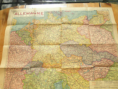 CARTE TARIDE ancien OLD MAP germany ALLEMAGNE n°133 Gaillac Monrocq
