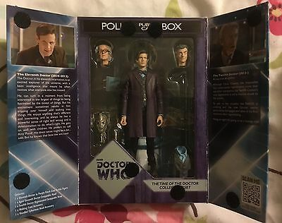 Doctor Who The Time Of The Doctor Figure Set Mib.