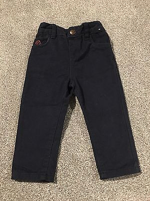 Boys Navy Trousers 9-12 Months BNWOT