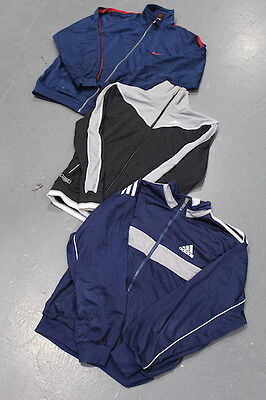 VINTAGE WHOLESALE 80's 90's 00's Adidas Track Top Mix x 10