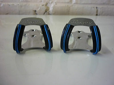 Cale Pieds Mini Christophe Rubber Pedals Toe Clips *nos*