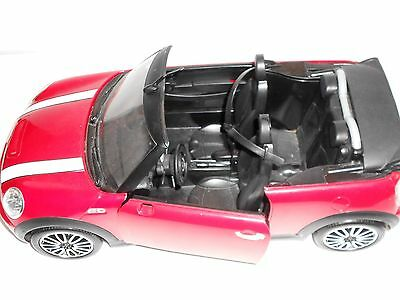 KEN BARBIE RED MINI COOPER CABRIO S Convertible Vehicles Mattel 2012