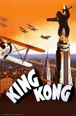 Rko Pictures King Kong Movie Poster New 24X36 Free Shipping