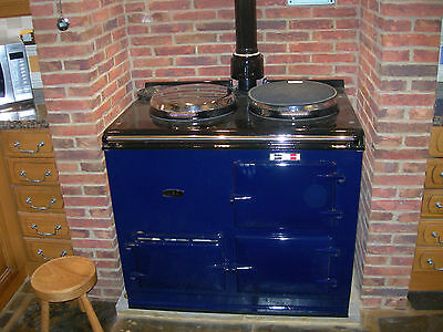 A two oven natural gas fired AGA