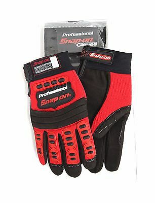 New Snap-On Professional Mechanic Gloves RED Small Workwear S Mountain Bike