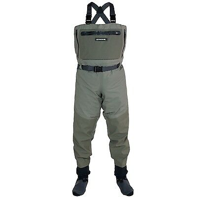 Compass 360 Ledges Breathable STFT Chest Wader - Size SM 2111135-SM