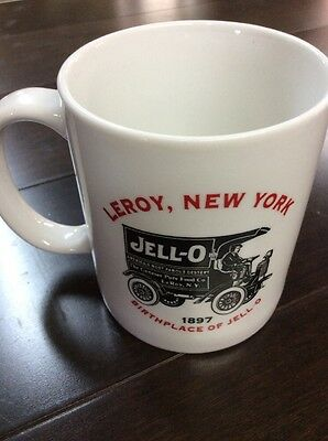 Jell-o Mug From The Birthplace Of Jello, Leroy, New York