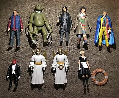 Doctor Who Character Option Action Figures X9.