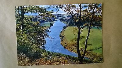 """A postcard of The """"Queen's View""""on the Spey,Craigellachie,Banffshire,Scotland."""