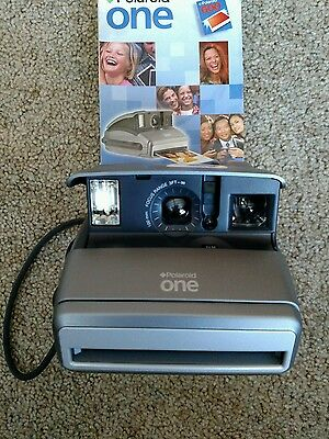 New Polaroid One 600 Instant Camera with pamphlet