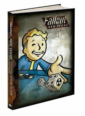 Fallout: New Vegas Limited Collector's Edition Hardcover Game Guide - Very Rare
