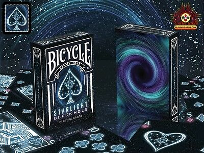 Bicycle Deck Of Playing Cards Starlight Blackhole Back