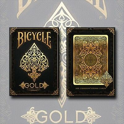 Bicycle Black Gold Back Luxury Deck Of Playing Cards Uspcc