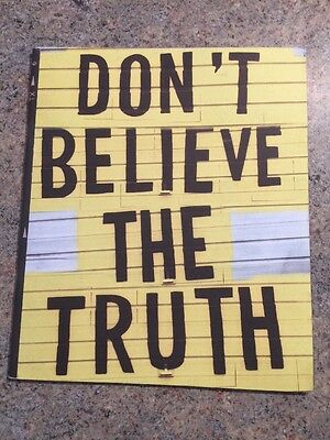 OASIS Dont Believe  The Truth Tour Programme