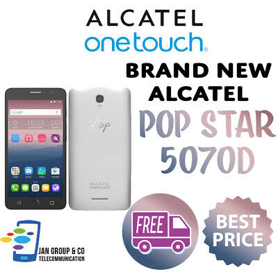 Alcatel OneTouch POP STAR 5070D - UNLOCKED - Brand New