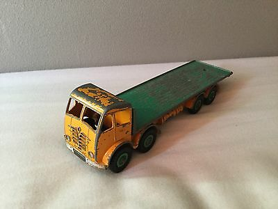 Dinky Supertoys 902 Foden, Yellow/green, Very Rare Colour. Original!