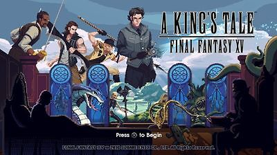FINAL FANTASY XV 15 :A Kings Tale XBOX ONE Full game