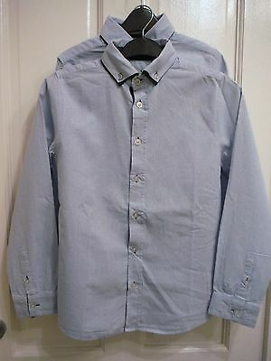 Zara Boys Two Blue Shirts age 9 to 10 years