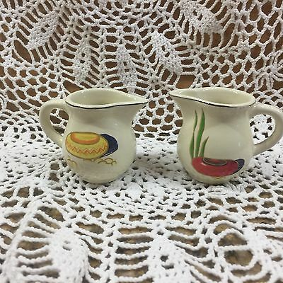 Fiesta Matching Mexicana 2 Oz. Individual Pottery Creamer - Mint