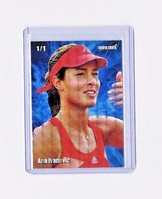 Ana Ivanovic Future Stock Tennis Rookie Card - REFRACTOR - Limited 1/1