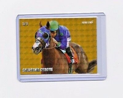California Chrome Future Stock Kentucky Derby RC - REFRACTOR - Limited 1/1