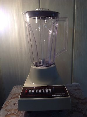 Vintage Hamilton Beach Scovill 7 Speed Blender Model 600-2 With Extra Pitcher
