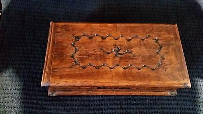 Tallent of Old Bond street wooden musical jewellery or trinket box