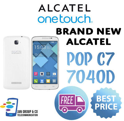 Alcatel OneTouch POP C7 7040D - UNLOCKED - Brand New