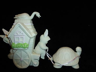 NEW ~ Dept 56 Snowbunnies Spring Easter SLOW MOVING VEHICLE Turtle #26280 NIB