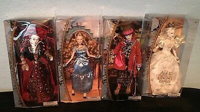Disney Film Collection Tim Burton Alice Through The Looking Glass Doll Set OOAK