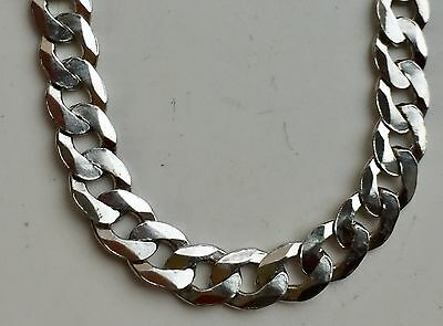 """925 Sterling Silver 5mm 18"""" Curb Chain Necklace Curb Chain"""