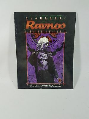Clanbook : Ravnos Vampire :The Masquerade White Wolf World of Darkness WoD
