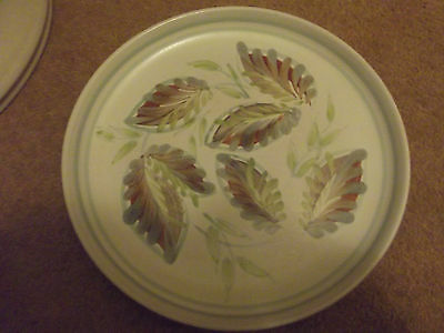 denby  hand painted salad plate