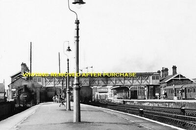 Selby Station 0-4-4T No 67250 1St June 1957 6X4 Print