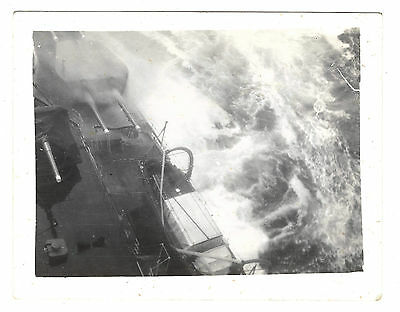 HMS Nelson Photograph from deck during voyage from Arosa Bay to the West Indies