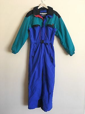 Ski Snowboarding Jumpsuit - Vintage EDGE Quality Snow Suit Youth XL / Adult S