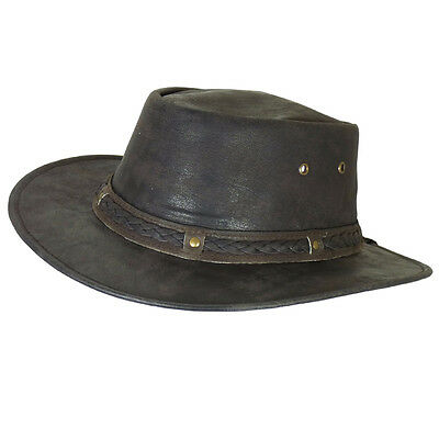 Thor Equine Kinder - Leather hat Cowboy Hat Western Hat, Stokes, XXS - XS