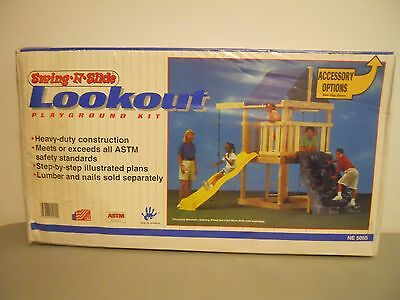 NEW Swing N Slide Lookout  Playground Accessory Kit Play Set
