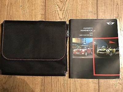 Genuine Mini Owners Manual And Wallet Excellent Condition 2007-2014